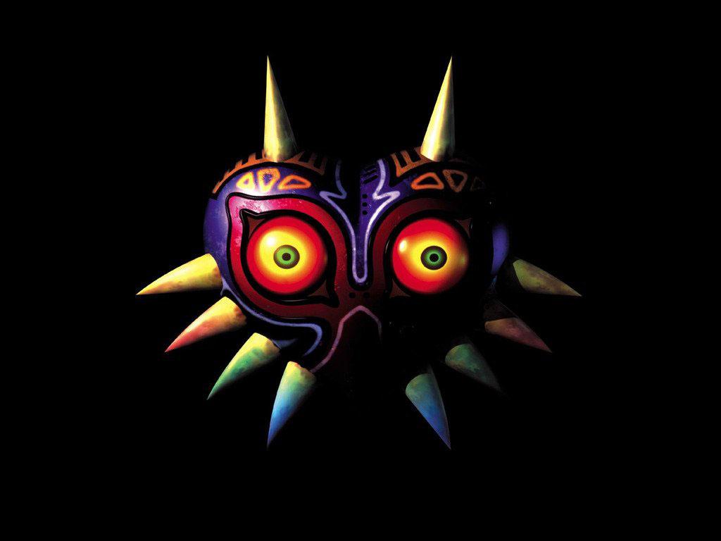 Majora's Mask mit der Kettensäge geschnitzt