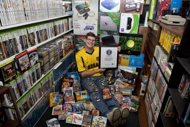 Weltgrößte Videospiel-Sammlung steht zum Verkauf