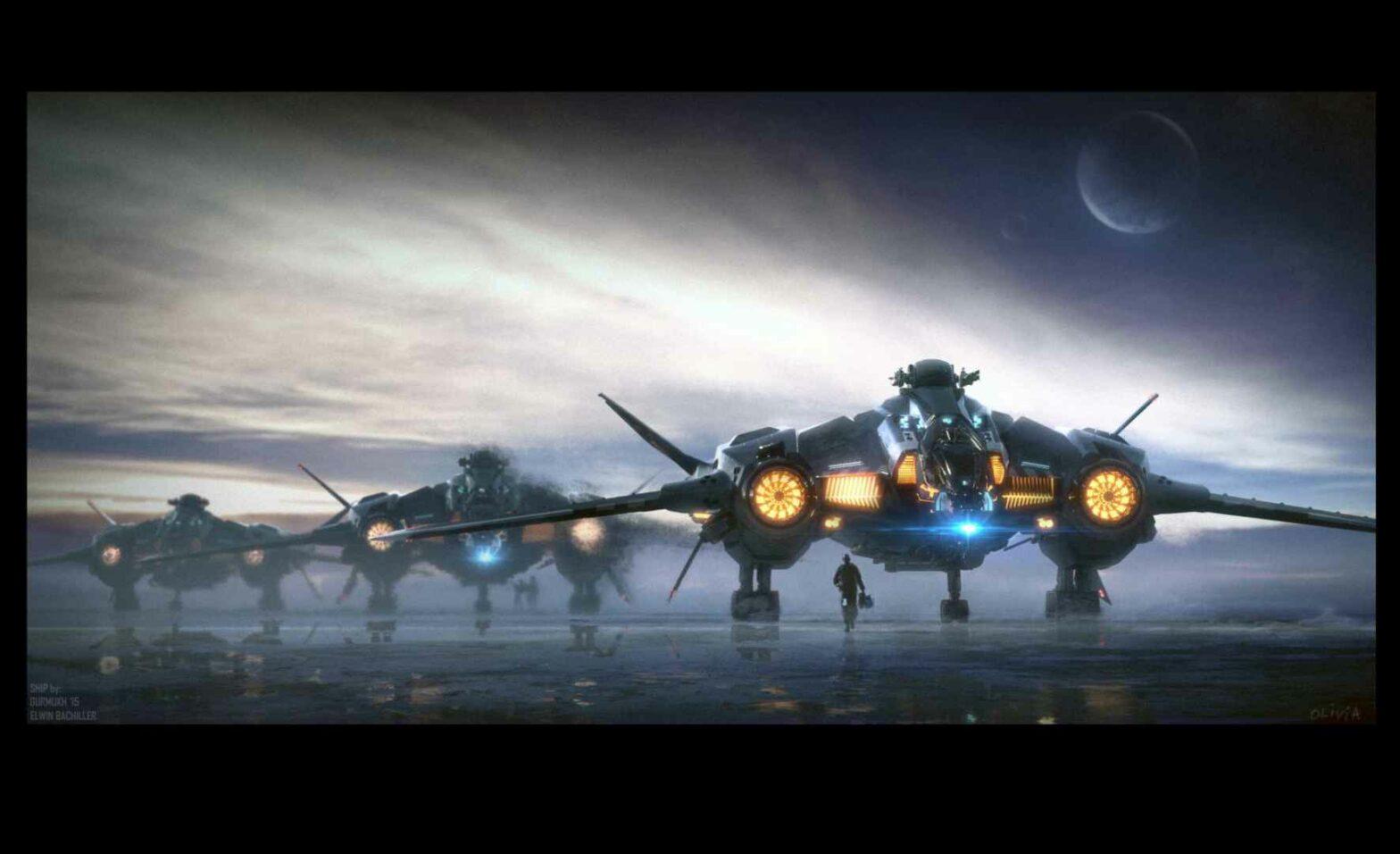 Star Citizen: 300 Dollar für einen schönen, fluguntauglichen Bomber