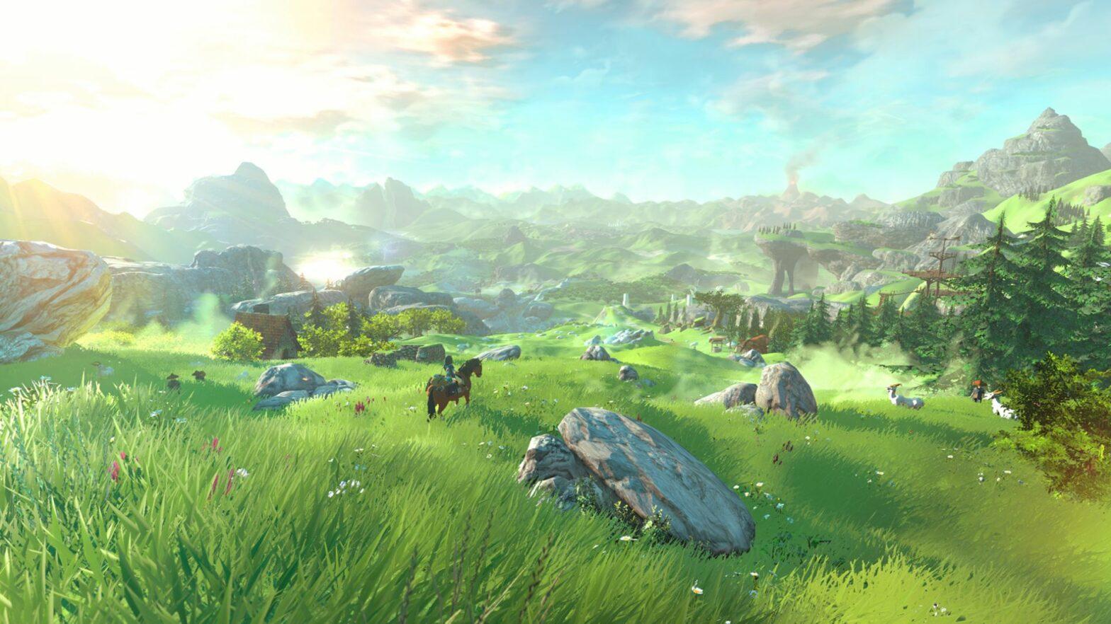 Zelda Breath of the Wild: Neue Videos zur Spielwelt