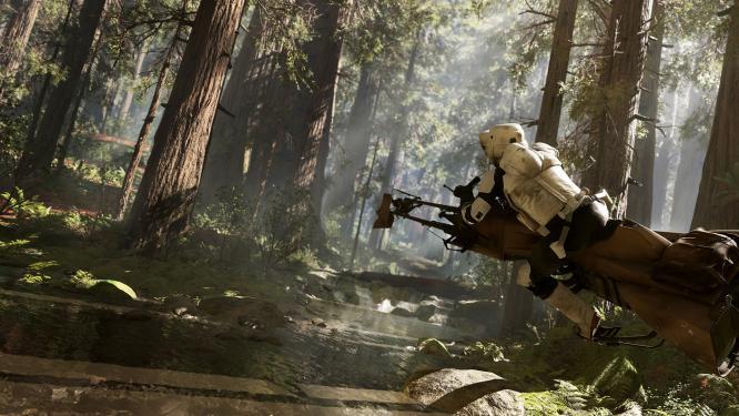 Star Wars Battlefront: AT-ST soll spielbar sein