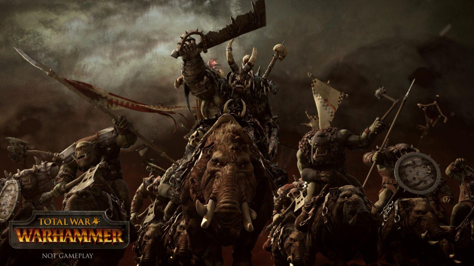 Total War: Warhammer offiziell angekündigt