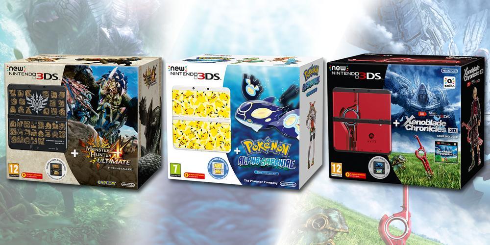 Nintendo kündigt drei neue New Nintendo 3DS Bundles an