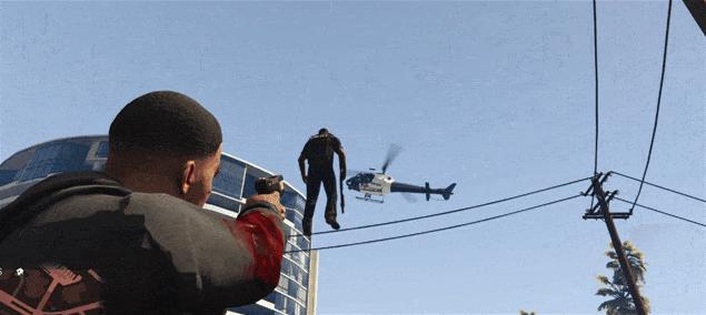 Die Gravity Gun in GTA V