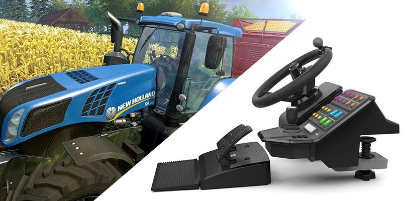 Erlebe den Traktor: 300$ Controller für den Landwirtschaftssimulator 15 im Herbst erhältlich