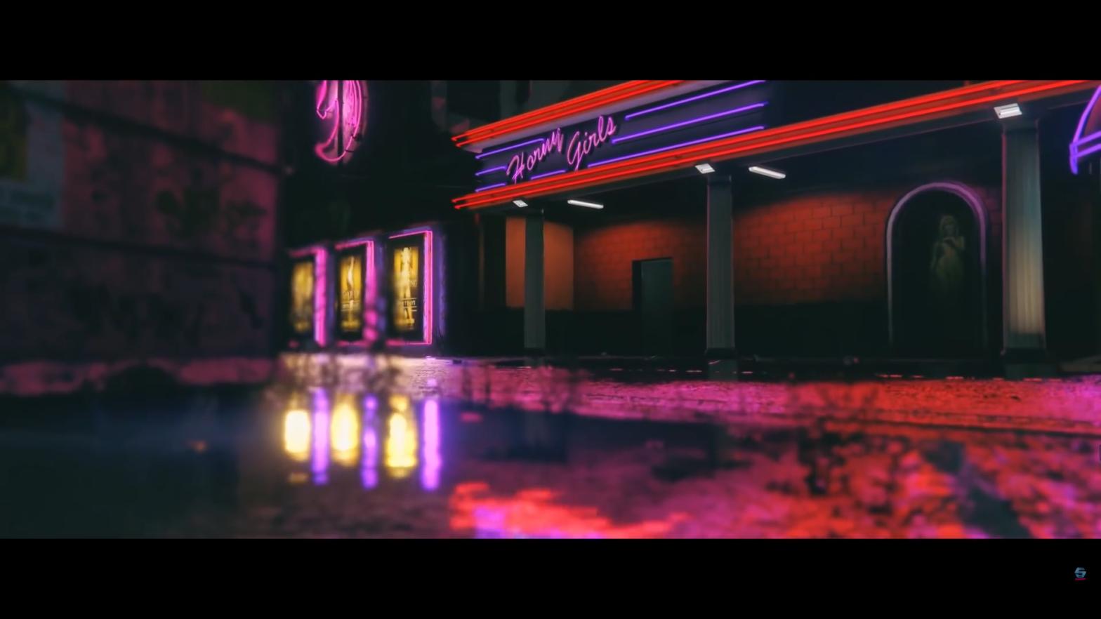 Das erste Musikvideo mit dem GTA-Video Editor besticht mit neon-noir Flaire ala Vice City