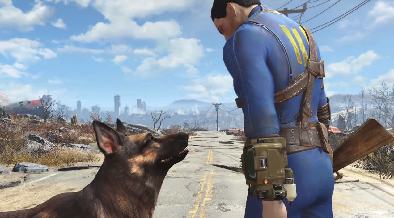 Fallout 4: Dogmeat kann dieses Mal nicht sterben