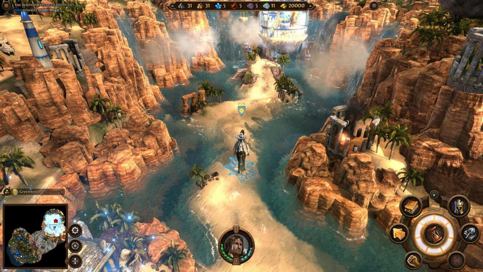 Neuer Might & Magic 7 Gameplay-Trailer stellt Haven Faction vor