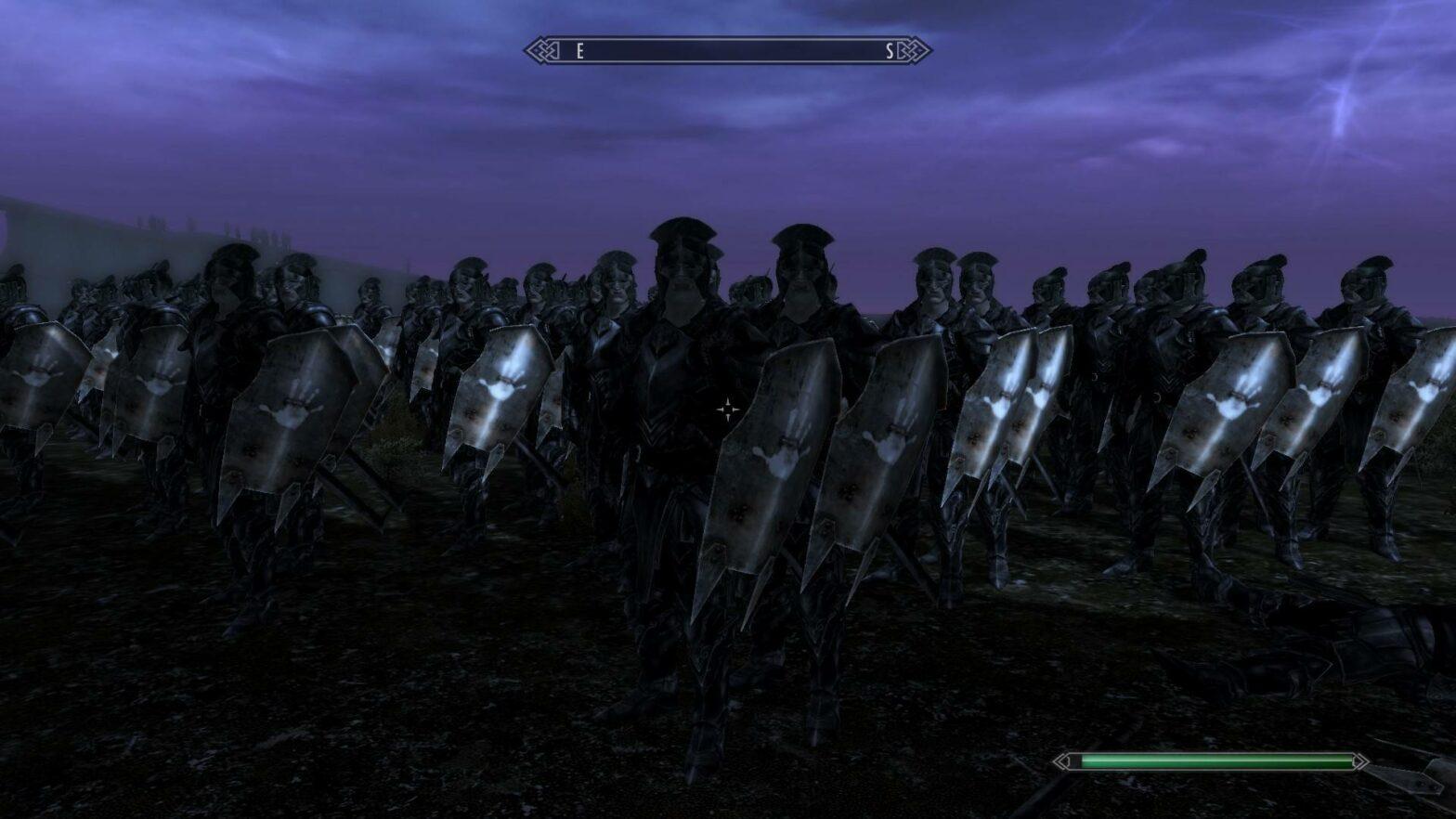 Ziemlich cool: Schlacht um Helms Klamm in Skyrim nachgestellt