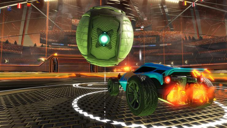 Rocket League: Basketball-Modus ab April verfügbar