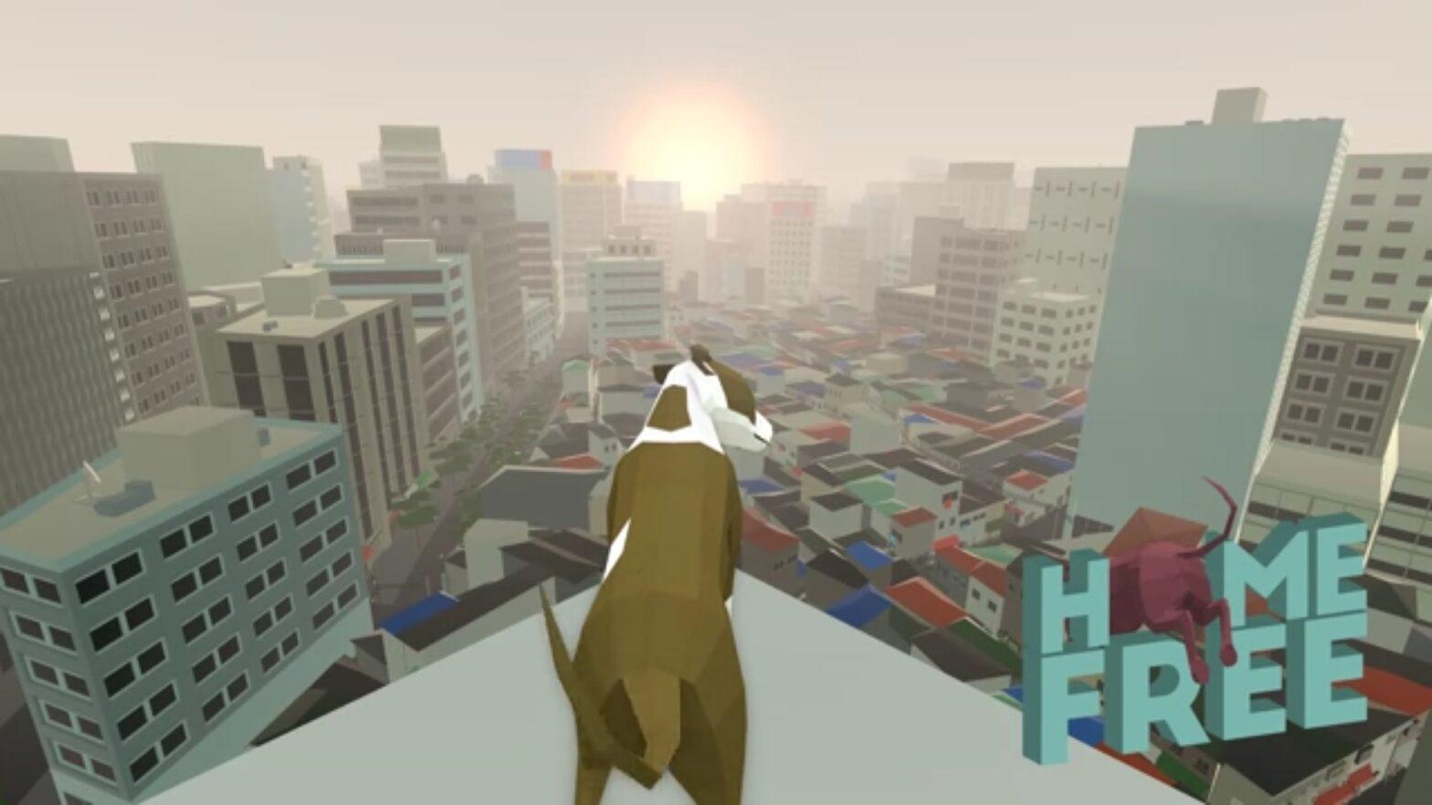 Kickstarter: Als verloren gegangener Hund durch die fremde und prozedurale Stadt nach Hause finden