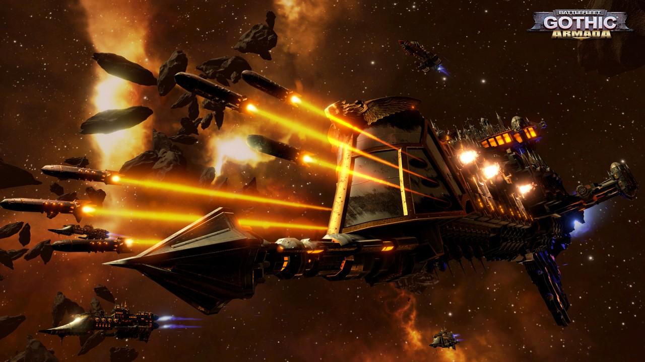 Battlefleet Gothic: Armada – Space Marines Trailer