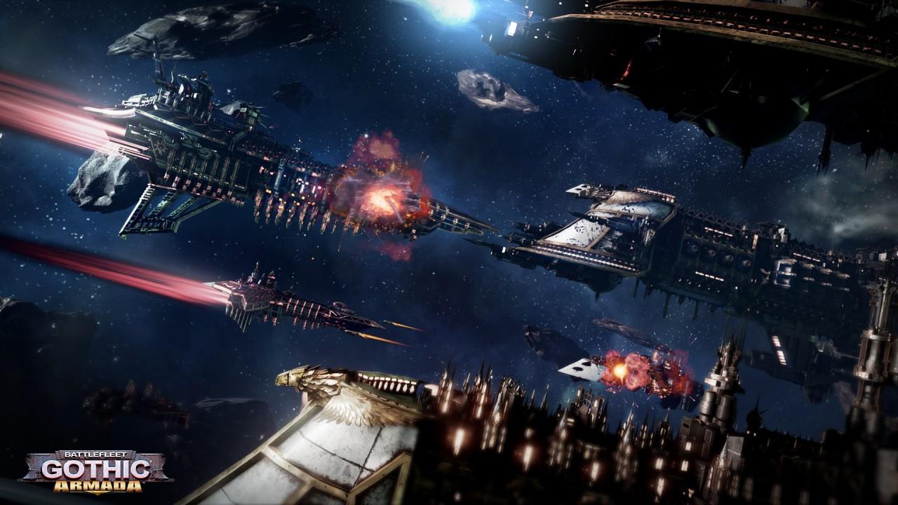 Battlefleet Gothic Armada – Tau ziehen im Weltraum