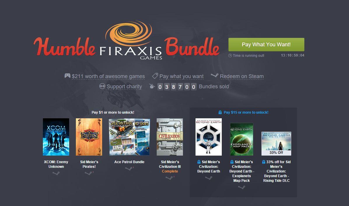 Humble Bundle: Firaxis präsentiert Civilization, XCOM und co.