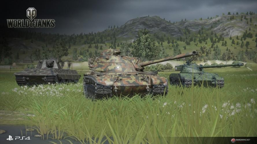World of Tanks jetzt auch auf der PlayStation 4