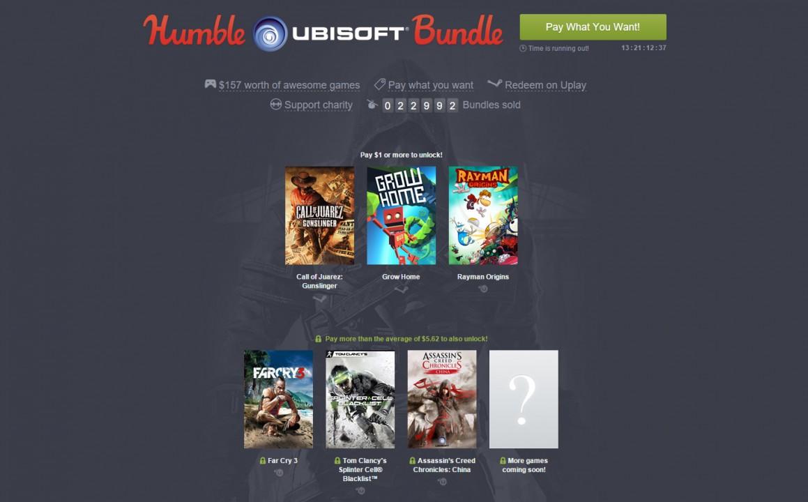 Ubisoft-Humble Bundle wird erweitert