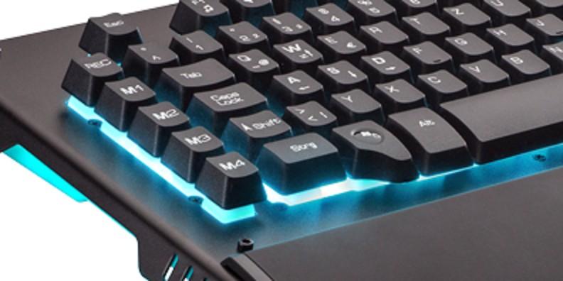 Pro-Gaming Keyboard Nacon CL-510: Eine Rubberdome besser als die mechanischen Kollegen?