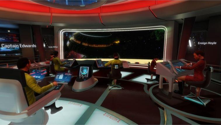 Star Trek: Bridge Crew ein VR-Highlight