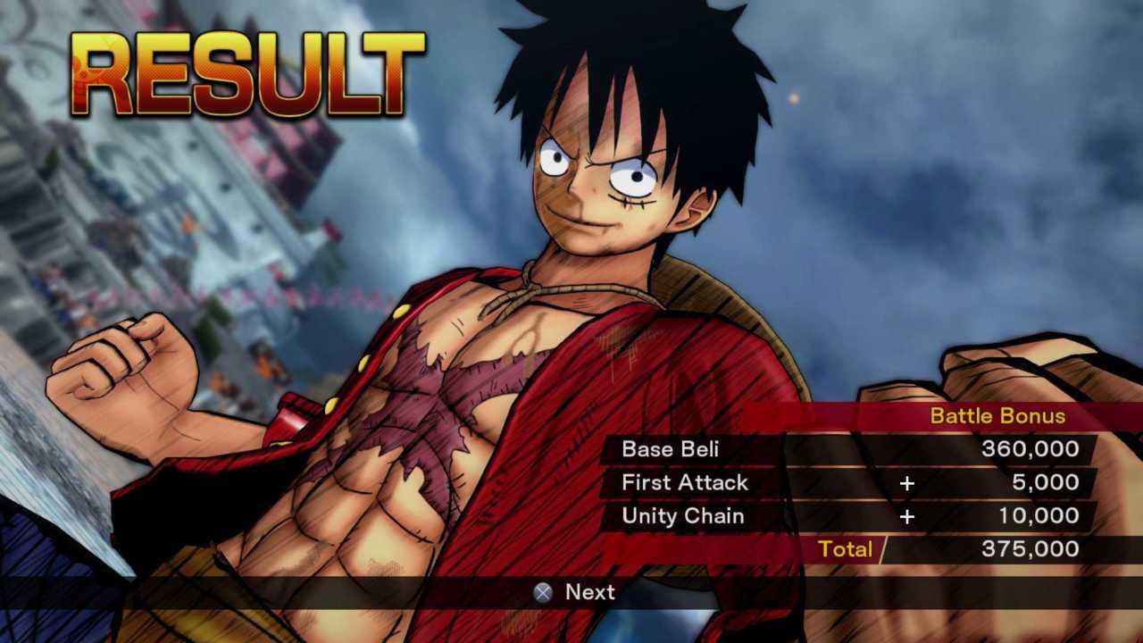 One Piece – Burning Blood – Gum-Gum-Ganz-Ok-Attacke!