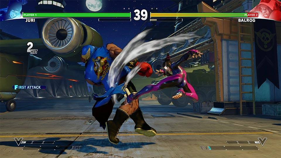 Street Fighter V – Juri ist wieder dabei!