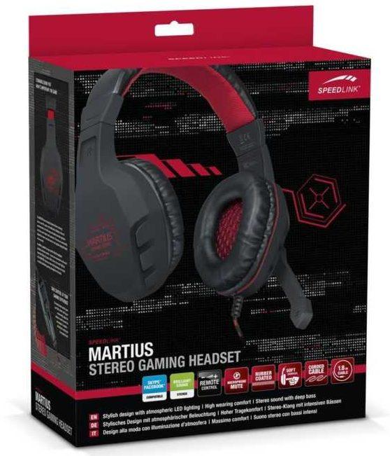 Speedlinks Neues für die Neuen: Martius Stereo Gaming-Headset