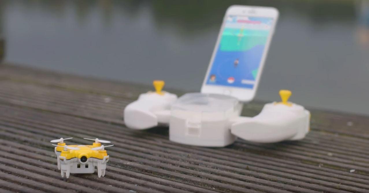 Pokédrone ermöglicht Fang überall