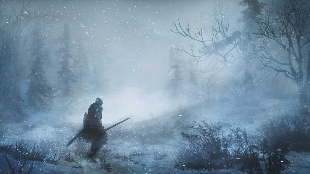 Dark Souls III klappt auch im Schnee