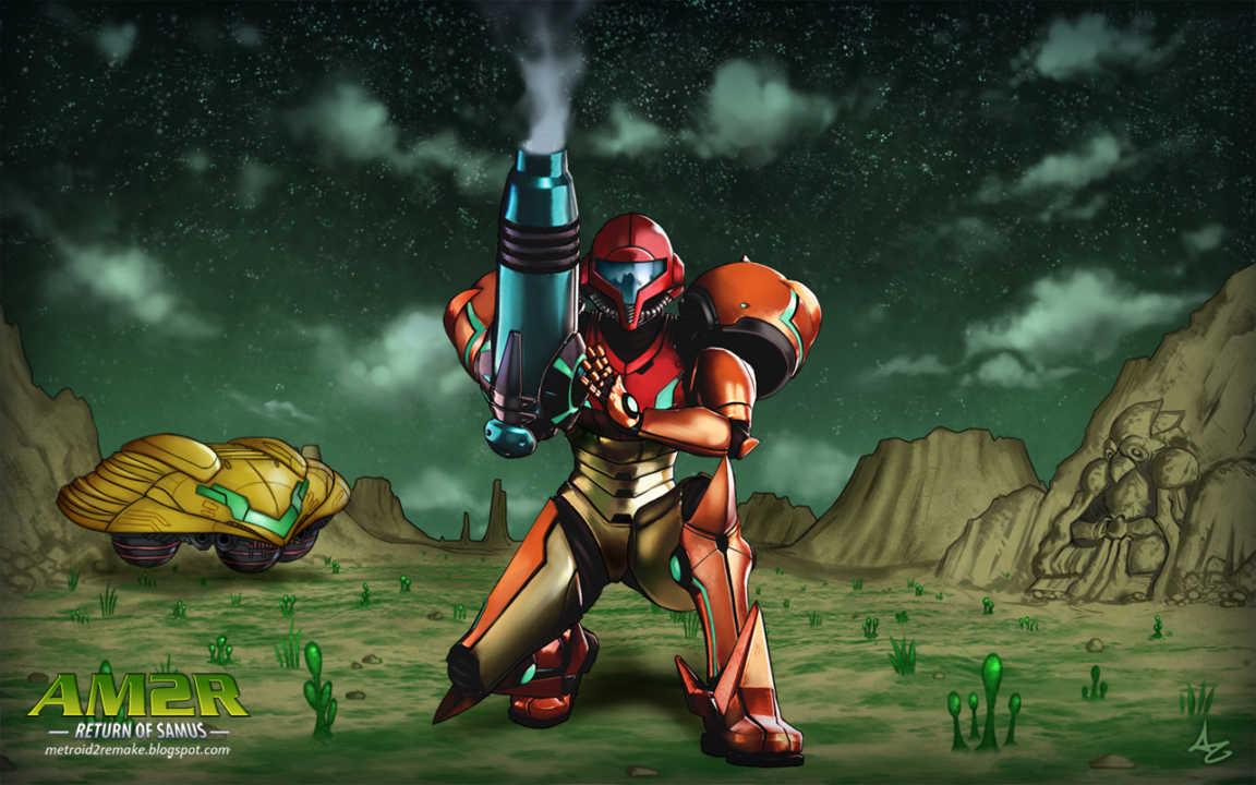 Da ist es endlich – Metroid 2 – lecker!