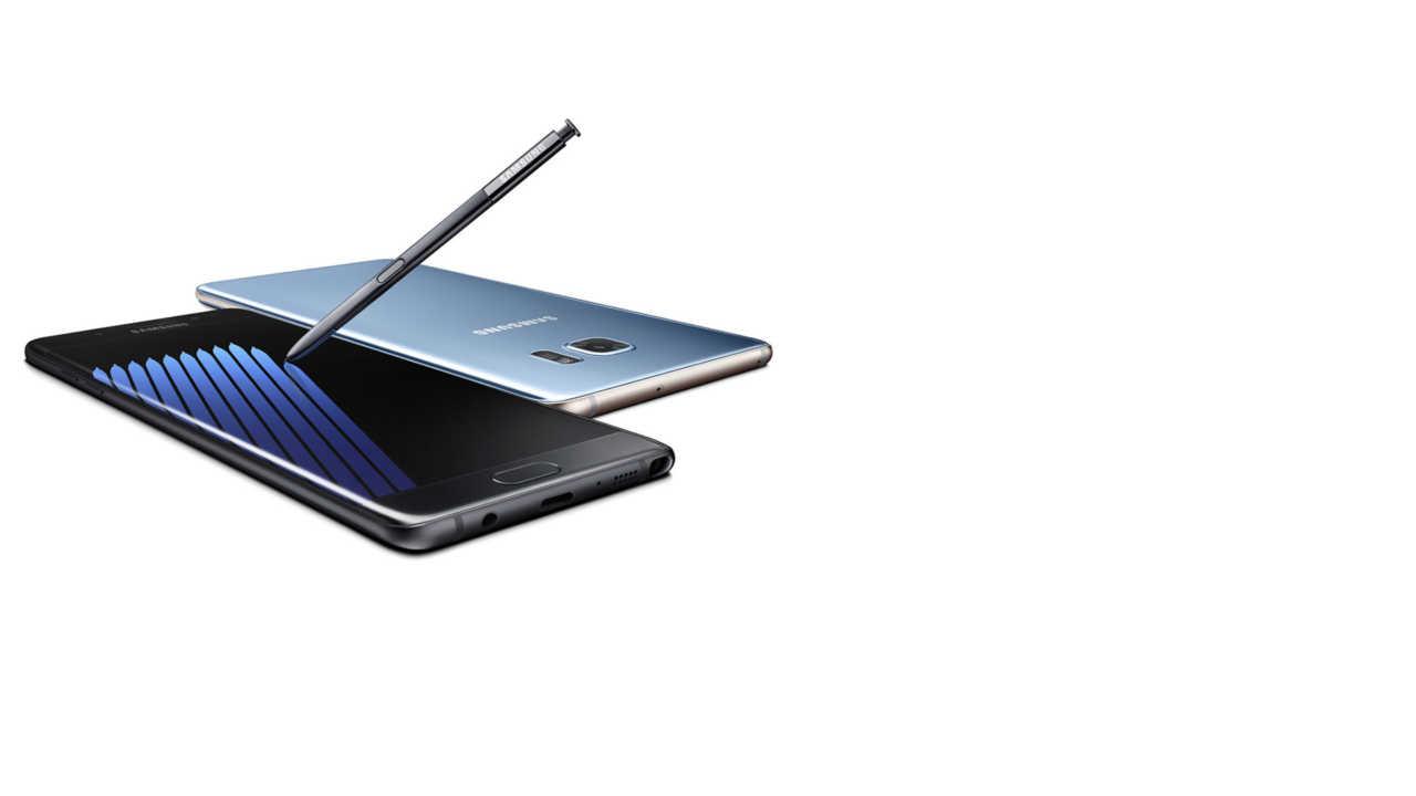 Samsung: Produktion von Galaxy Note 7 beendet