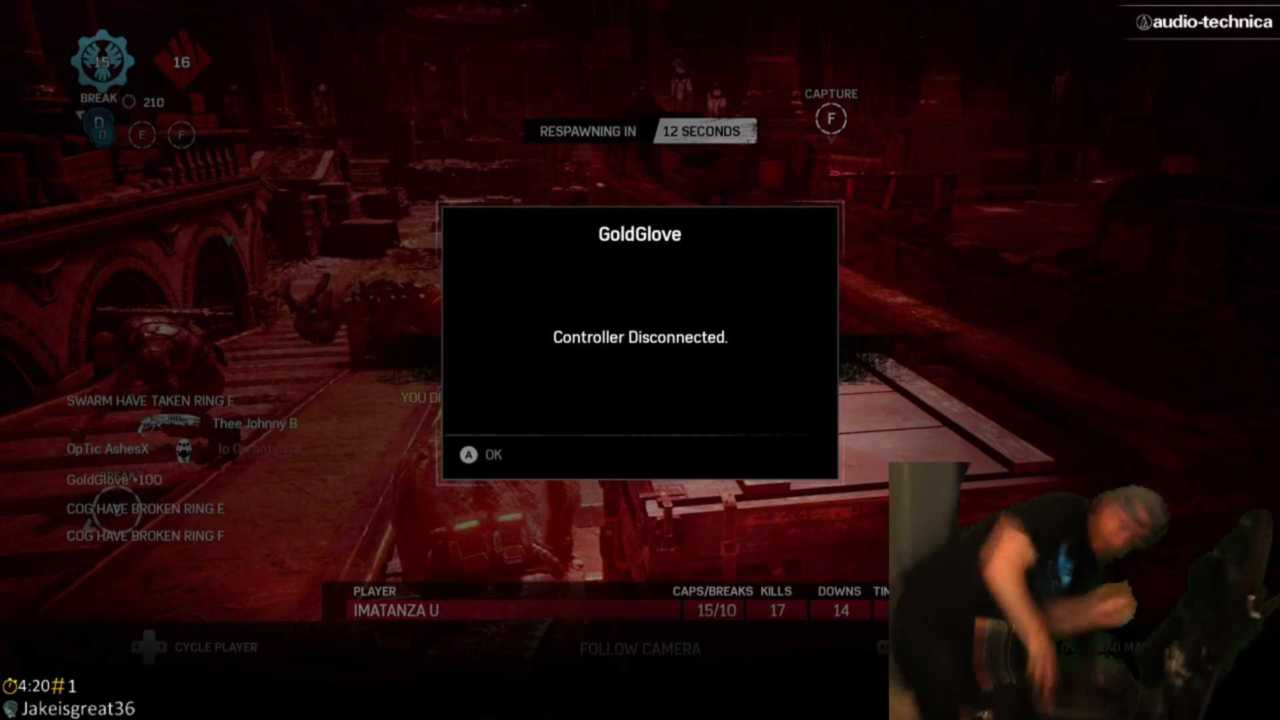 Twitch – Streamer zerstört 180 Euro-Controller während Gears of War 4
