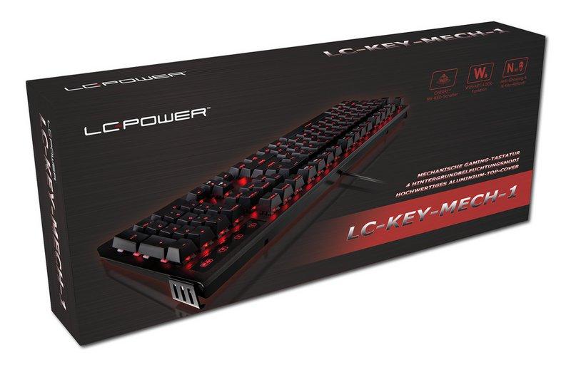 LC-Power LC-KEY-MECH-1 Tastatur im Test