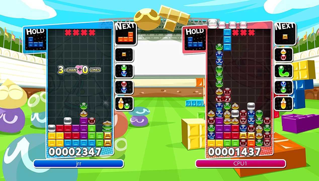 Puyo Puyo Tetris: Die perfekte Puzzle-Kreuzung
