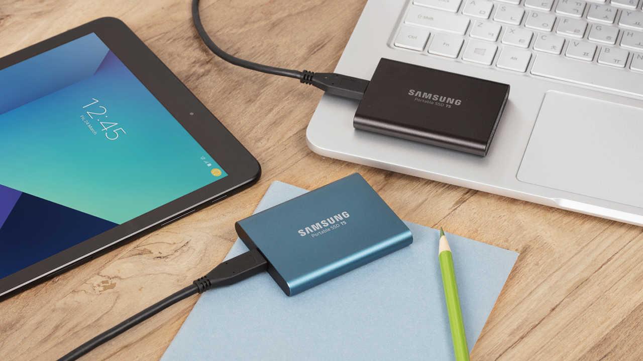 Rüste dein Gaming Setup passend zur gamescom 2017 mit einer Portable SSD T5 von Samsung auf!