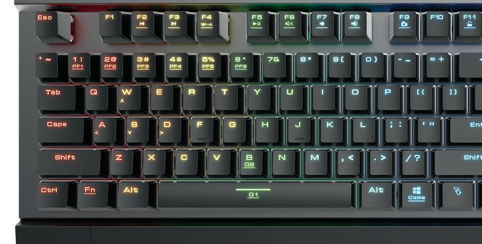 Gamdias Hermes P2 RGB: Die Tastatur mit den optischen Schaltern
