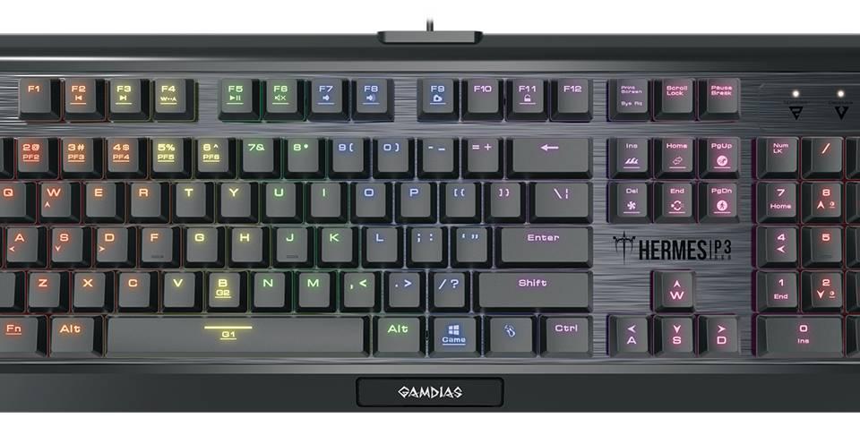 Gamdias Hermes P3 RGB: Die Mechanische Tastatur im Test