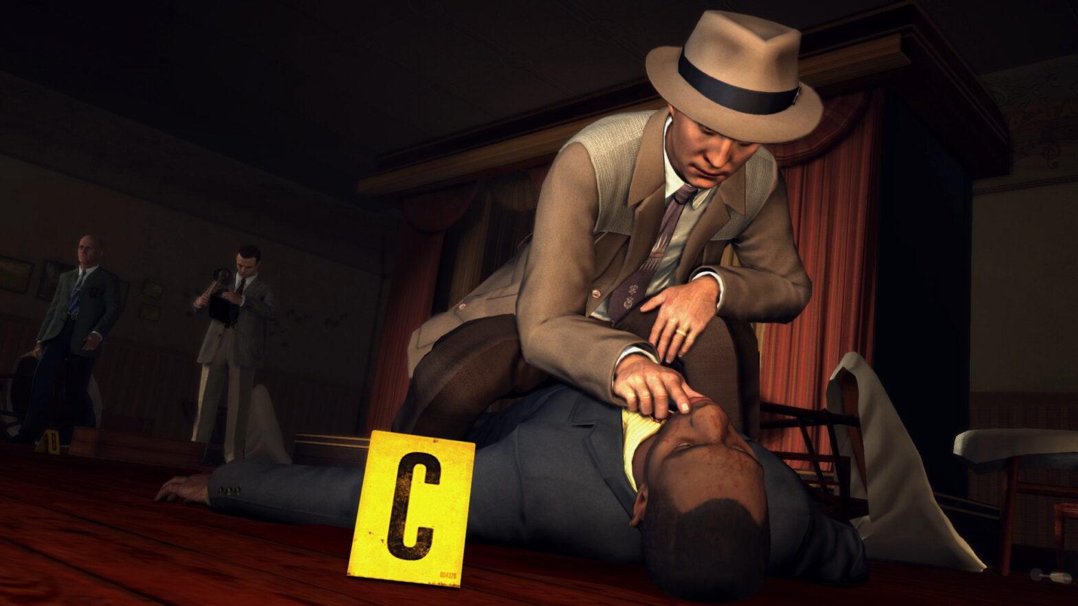 L.A. Noire (Switch) im Test – Gestatten Cole Phelbs, LAPD
