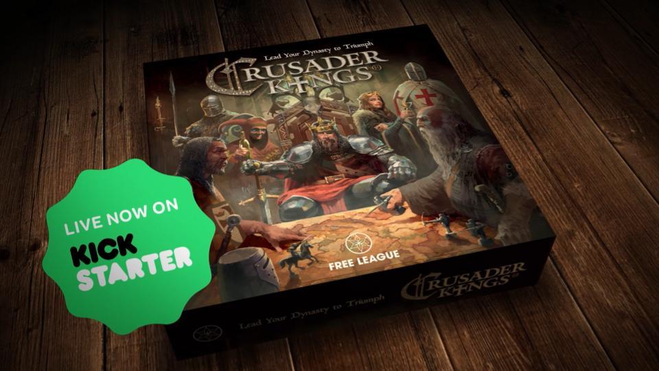 Riesen Überraschung: Brettspiele von Paradox – Analoge Adaptionen von Crusader Kings und Co. bald erhältlich!