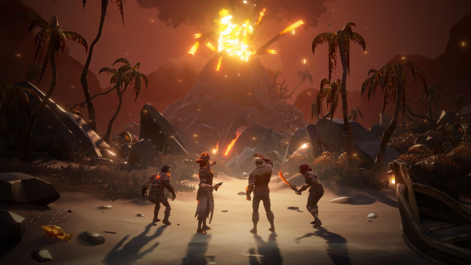 Sea of Thieves: Forsaken Shores-DLC ab sofort verfügbar