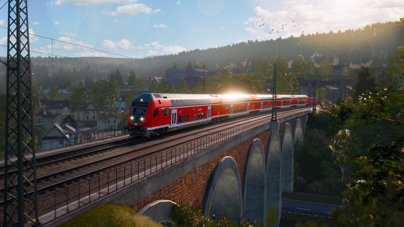 Zugsimulation Main-Spessart-Bahn fährt jetzt von Aschaffenburg nach Gmünden