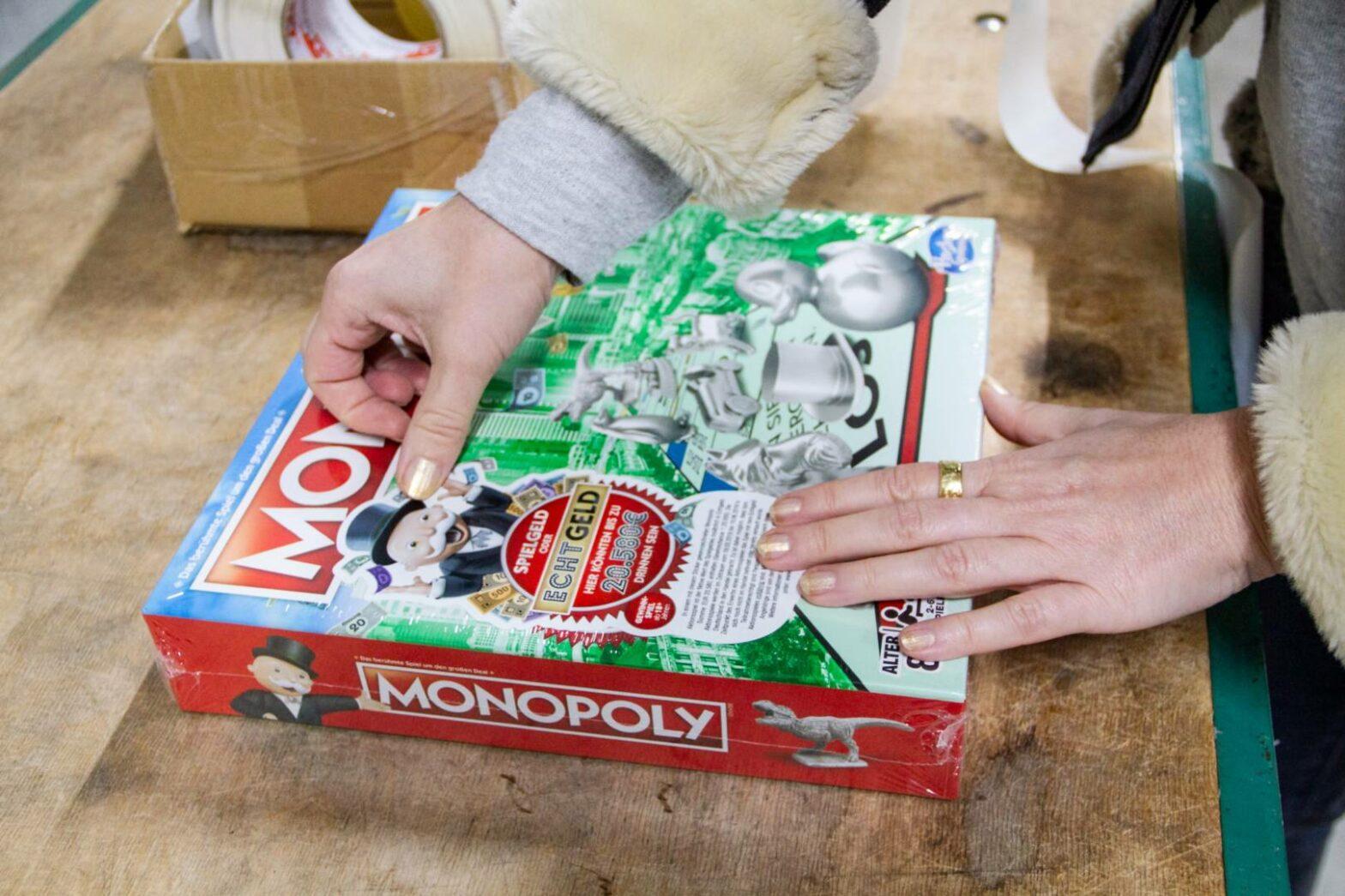 Monopoly mal mit echtem Geld spielen?