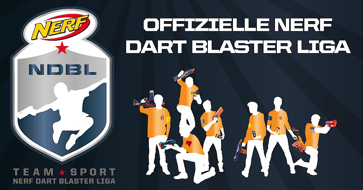 NERF Dart Blaster Liga – Gewinnspiel zum Nerf Teamsport