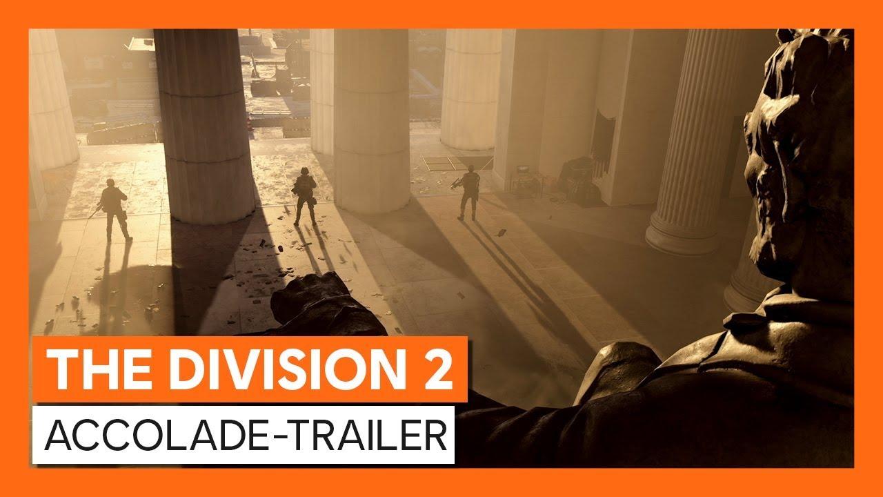 Tom Clancy's The Division 2 – Accolade Trailer veröffentlicht