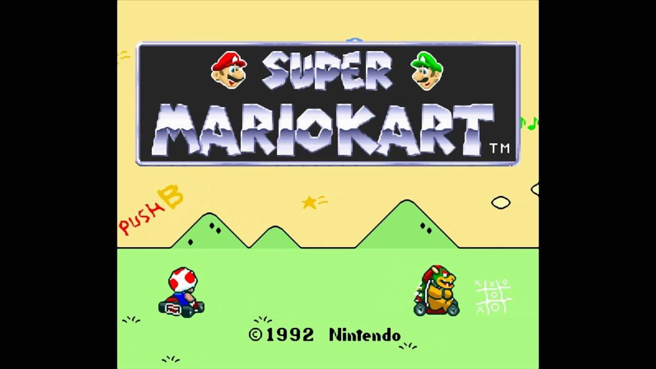 Super Mario Kart SNES (1992)