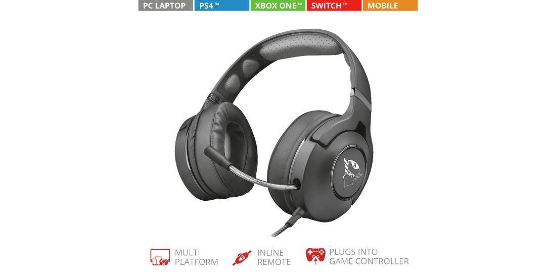 Trust GXT 420 Gaming Headset – Jetzt gibt's auf die Ohren