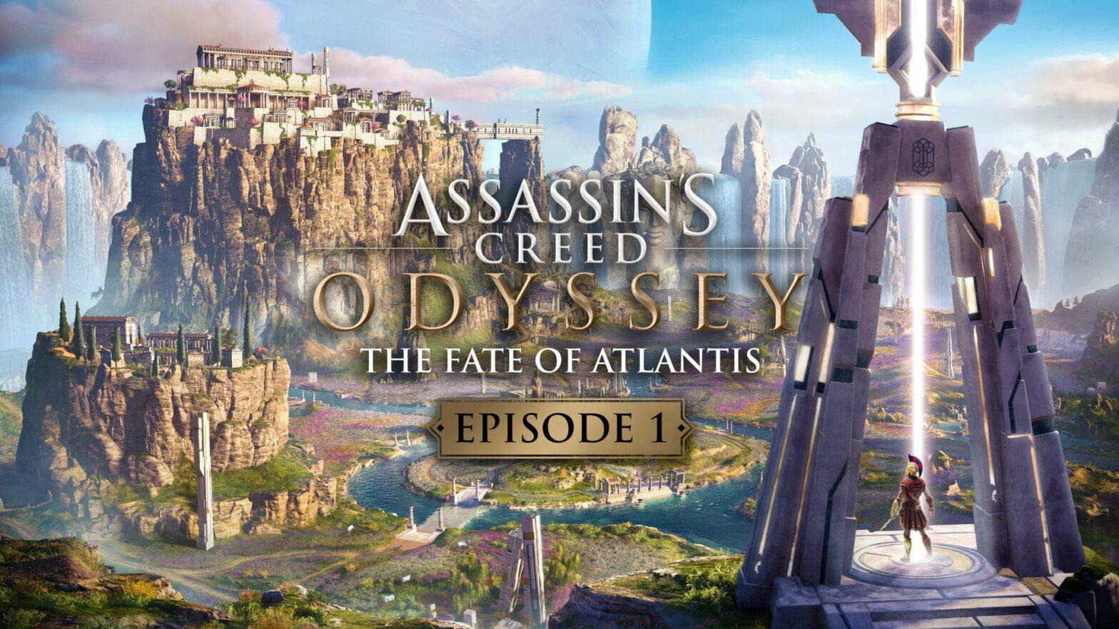 Assassin's Creed Odyssey: Das Schicksal von Atlantis, Episode 1 veröffentlicht