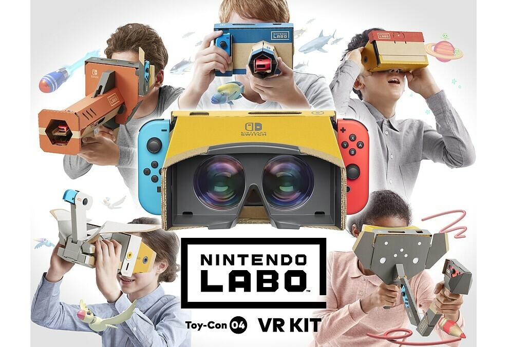 Zelda und Super Mario als VR