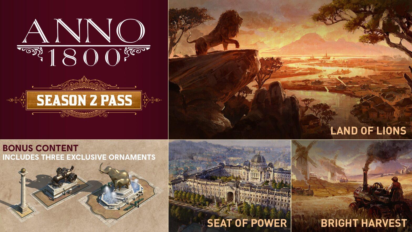Neue Details zum Anno 1800 Seasonpass